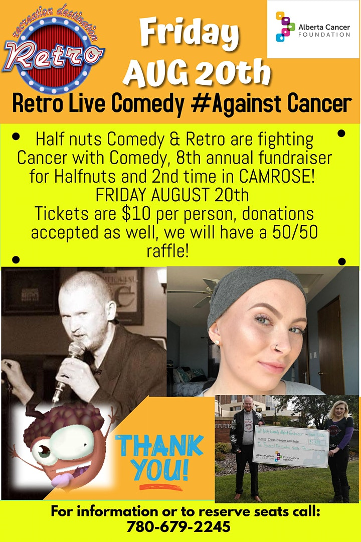Comedy agaInst Cancer Retro in Camrose image
