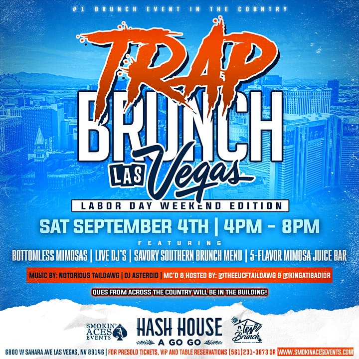 TRAP BRUNCH™: Summer Jam- The FINALE by Smokin' Aces image