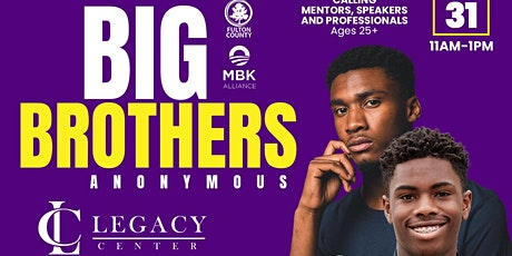 BIG BROTHERS ANONYMOUS tickets