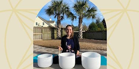 Restorative Sound Bath with Crystal Singing Bowls tickets