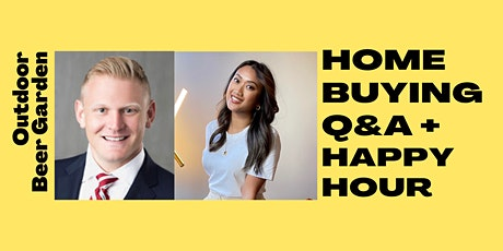 Home Buying Happy Hour Q&A with Local Real Estate Agent and Lender tickets