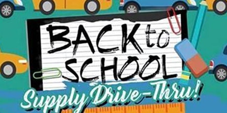 Back To School Supply Pick Up tickets