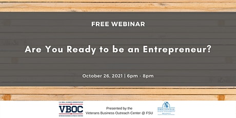 Are You Ready to be an Entrepreneur? tickets