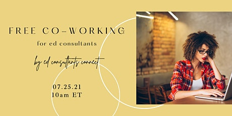Ed Consultants Connect FREE co-working tickets