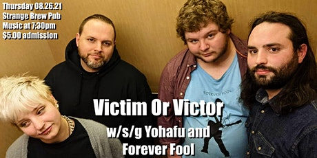 Victim Or Victor w/s/g Yohafu and Forever Fool tickets