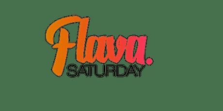 FLAVA SATURDAY tickets