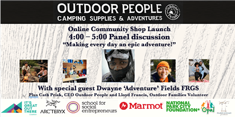 Online Launch Panel: Making every day an epic adventure! With special Guest tickets