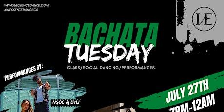 Bachata Tuesday tickets