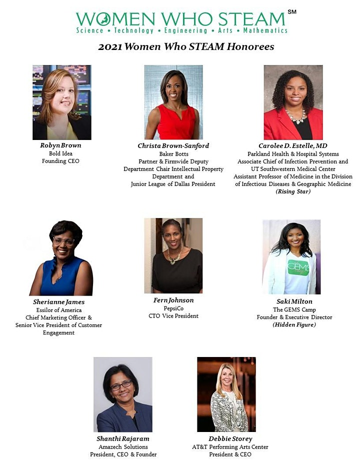 2021 Virtual Women Who STEAM Awards Luncheon image