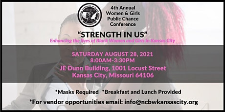 NCBW-KC's 4th ANNUAL WOMEN & GIRLS PUBLIC CHANCE CONFERENCE (Age 8 and Up) tickets