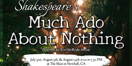 Free Shakespeare:  Much Ado About Nothing tickets