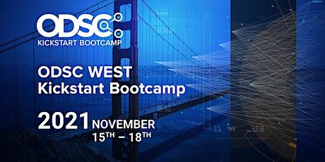 ODSC West 2021 - Open Data Science Conference | Kickstart Bootcamp tickets
