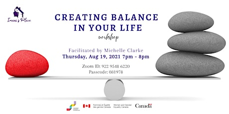 Creating Balance in your Life Workshop tickets