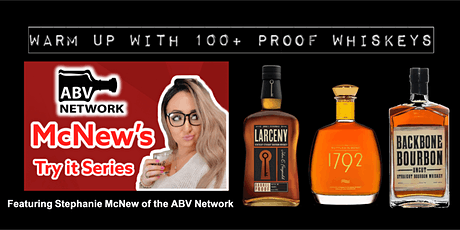 McNew's Try it Series: Warm Up with 100+ Proof Whiskeys (3 samples!) tickets