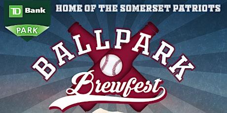 Somerset Patriots Ballpark Brewfest 2021 tickets