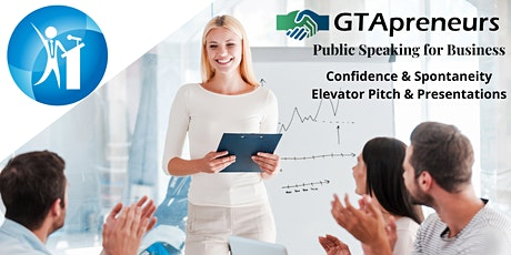 Public Speaking for Business Professionals course - 8 Weeks on Mondays tickets