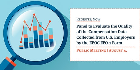Evaluating Compensation Data Collected by the EEOC Sixth Open Meeting tickets