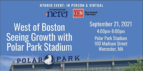 West of Boston Seeing Growth with Polar Park Stadium  In Person tickets