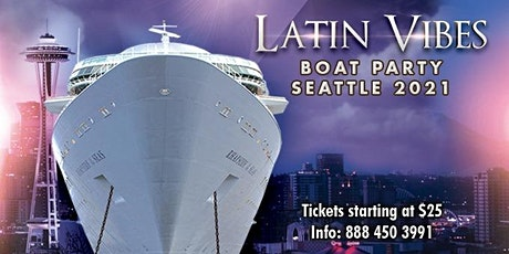 Latin Boat Party Seattle 2021 tickets