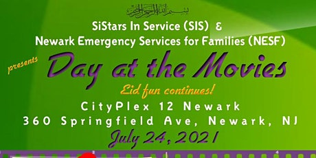DAY AT THE MOVIES  by SiStars In Service & Newark Emergency Family Services tickets