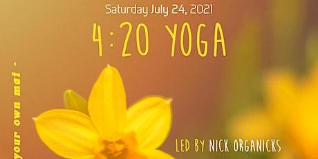 4:20 Space Park Yoga + Trippy Market tickets