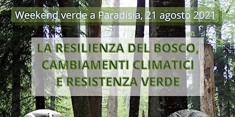 LA RESILIENZA DEL BOSCO, CAMBIAMENTI CLIMATICI E RESISTENZA VERDE biglietti