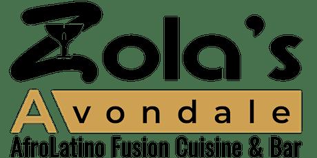 Zola's Avondale Cafe brings  Howard Hewett Live! tickets