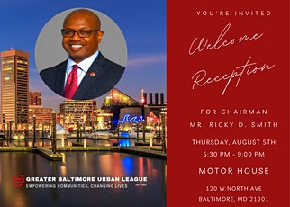 Greater Baltimore Urban League Chairman Welcome Reception tickets