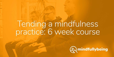 6 week online mindfulness course: Tending a mindfulness practice tickets
