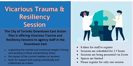 Downtown East - Vicarious Trauma & Vicarious Trauma Training for staff tickets