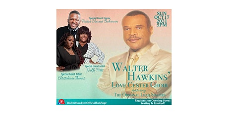 Walter Hawkins' Love Center Choir LIVE IN CONCERT (On the Road to 50…) tickets
