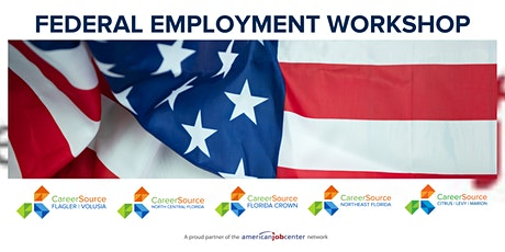 Federal Employment  August Workshop - Virtual tickets