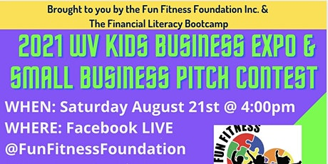 2021 WV Kids Business Expo & Small Business Pitch Contest - Virtual tickets