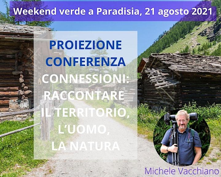 Immagine CONNESSIONI: RACCONTARE IL TERRITORIO, L'UOMO, LA NATURA (conferenza)