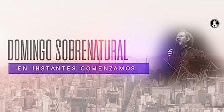 Domingo Sobrenatural entradas