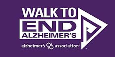 Walk to End Alzheimer's tickets
