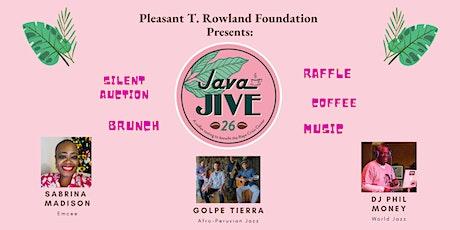 Java Jive 2021 tickets