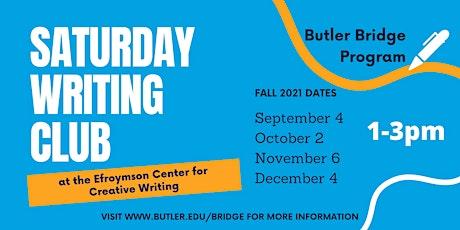 Saturday, October 2 - Writing Club tickets