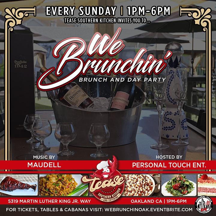 WE BRUNCHIN' - BRUNCH AND DAY PARTY image