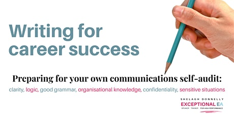 Writing for career success: Preparing to self-audit your communications tickets