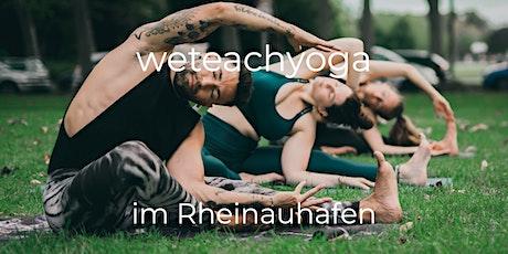 weteachyoga @Rheinauhafen  22.08.2021 - Open Class Tickets
