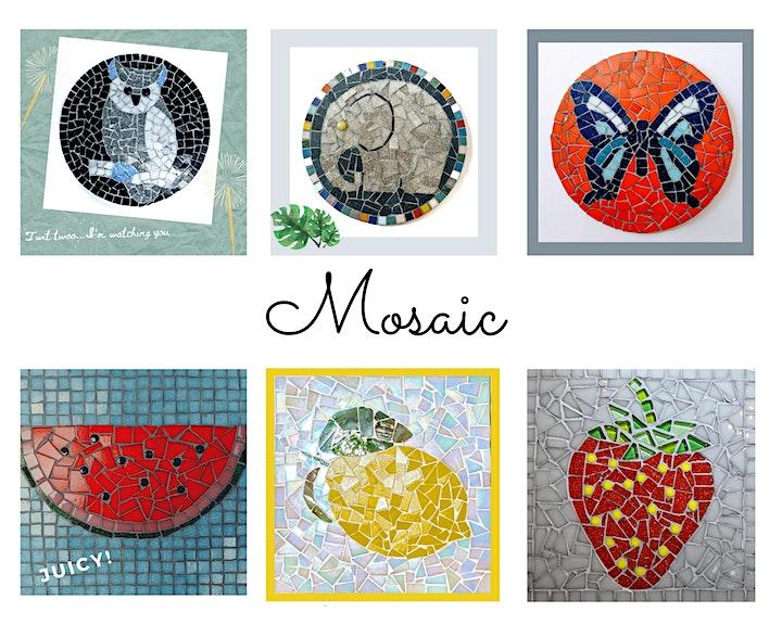 Glass Mosaic - Workshop image