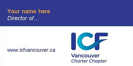 Learn what makes the ICF Vancouver Board tick and where you could be a fit! tickets