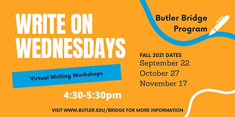 Wednesday, October 27 - Write On Wednesday tickets