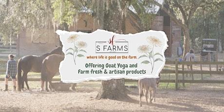 Goat Yoga @ S-Farms tickets