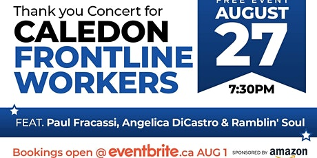 FRONT OF THE LINE, THANK YOU CONCERT FOR FRONTLINE WORKERS tickets