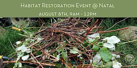 Habitat Restoration Event at Natal tickets