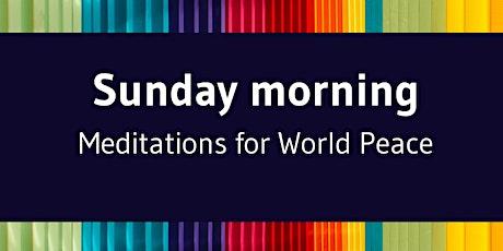 Sunday Meditations For World Peace tickets