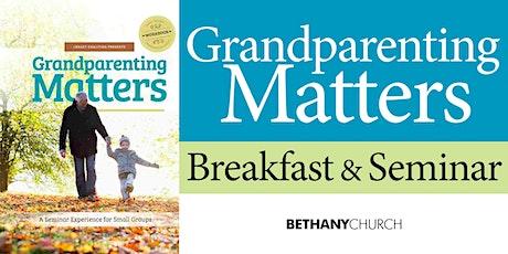 Grandparenting Matters tickets