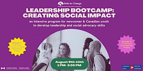Leadership Bootcamp: Creating Social Impact tickets